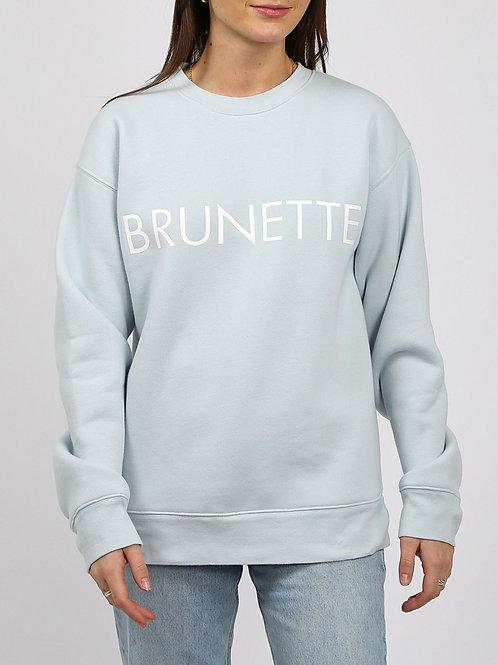 """The """"Brunette"""" Crew Neck Sweatshirt"""