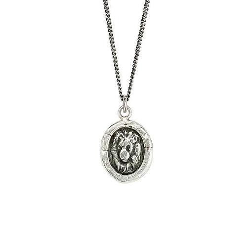 Lion Head Talisman Necklace