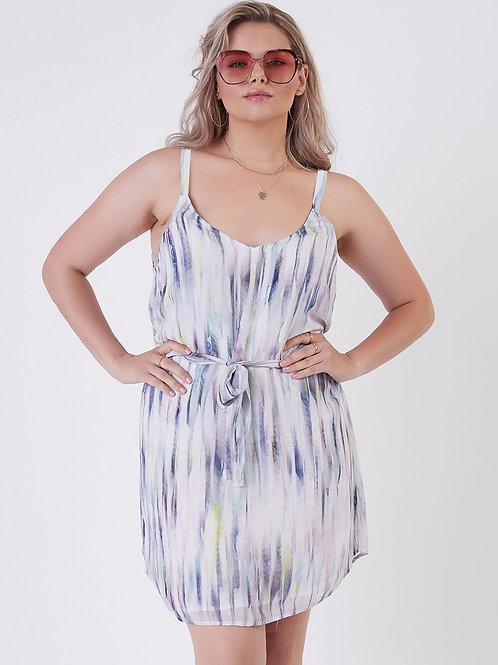 Printed Watercolour Dress