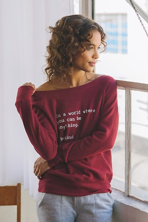 """""""Be Kind"""" Cozy Pullover"""