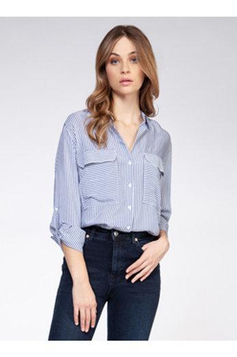 Blue Striped Long Sleeve