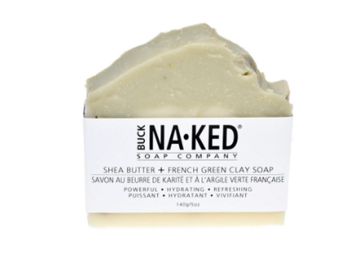 Shea Butter + French Green Clay Soap