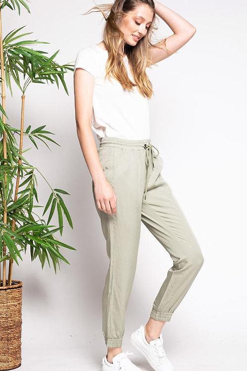 The Allegra Pants- Green