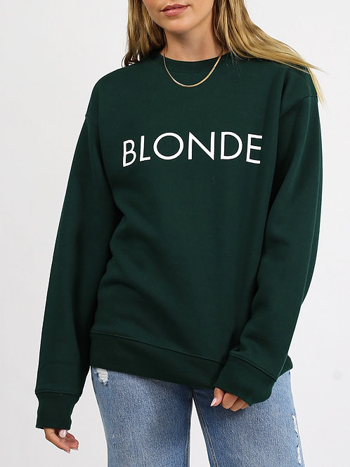 "The ""BLONDE"" Classic Crew Neck  