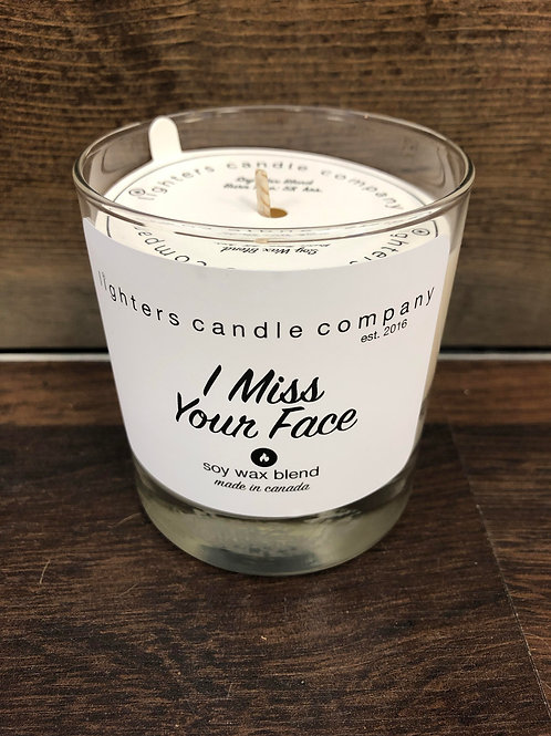 I Miss Your Face l Soy Wax Candle