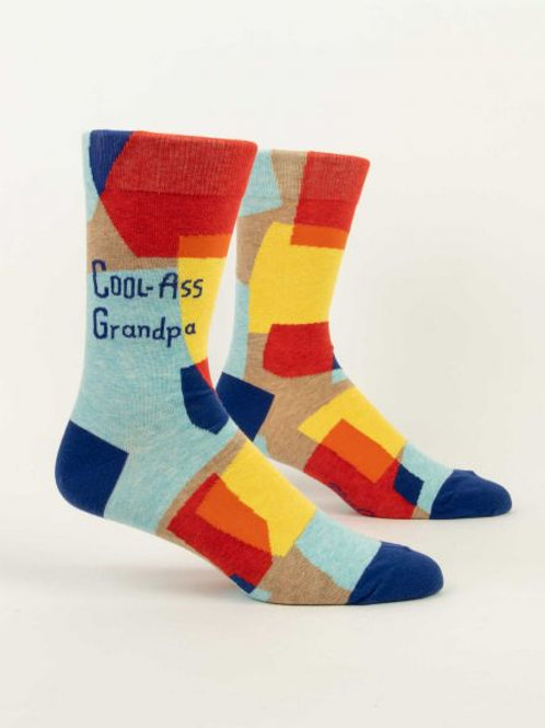 Cool-Ass Grandpa M-Crew Socks