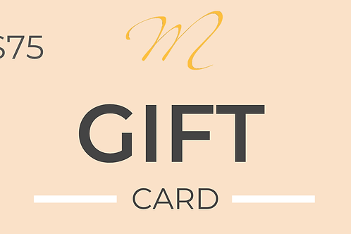 Gift Card [$75 value]