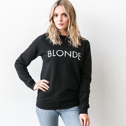 """BLONDE"" Crew | Black"