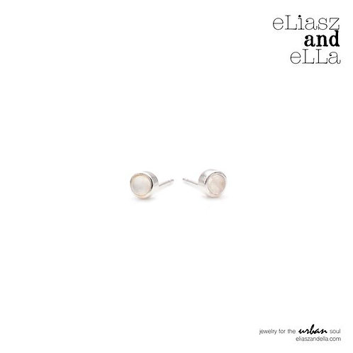 """""""Cozy"""" Moonstone Earrings"""