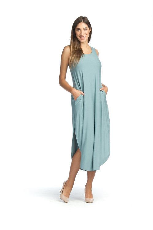Teal-Maxi Dress