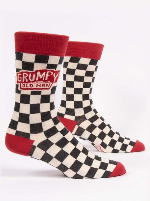 Grumpy Old Man M- Crew Socks
