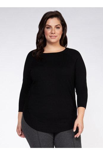 Circle Hem Sweater l Dex Plus