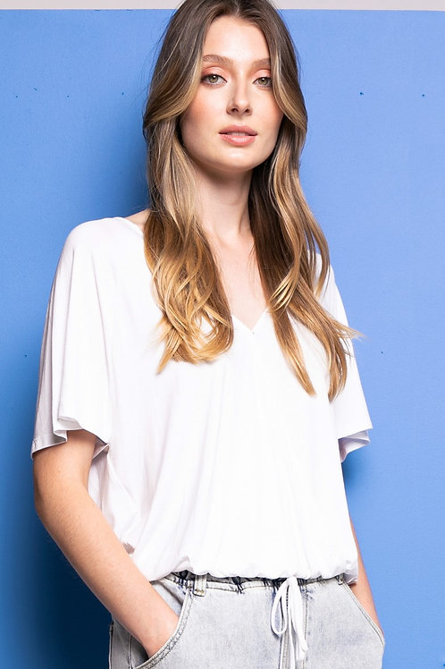 The Lily Top-White