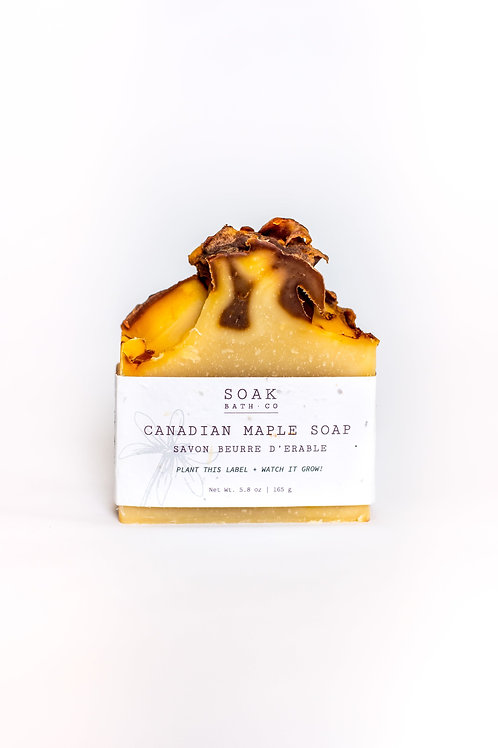 Canadian Maple Soap Bar