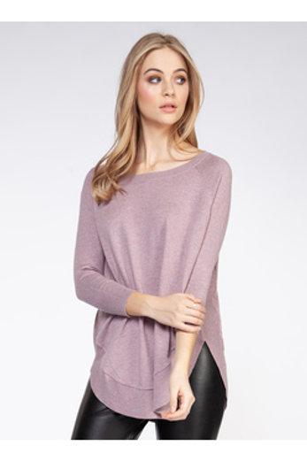 Long Sleeve Sweater l Mauve