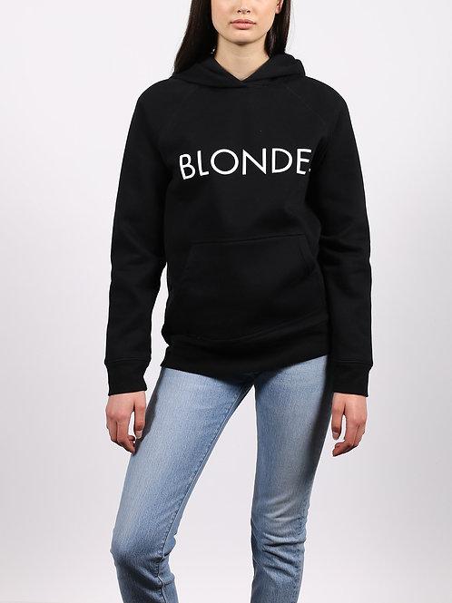 "The ""BLONDE"" Classic Hoodie   Black"