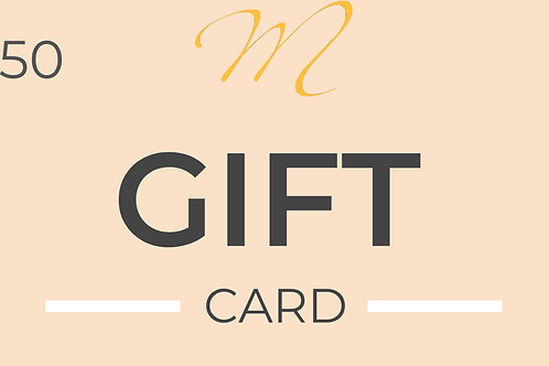 Gift Card [$50 value]