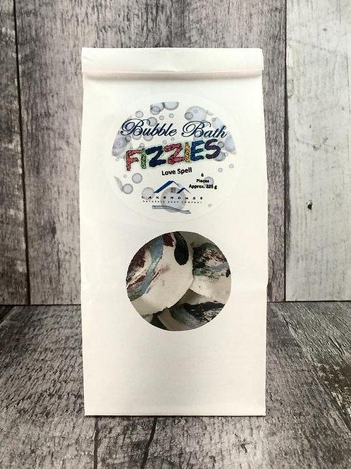 Bubble Bath Fizzies - Love Spell