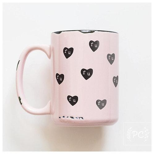 F U mug