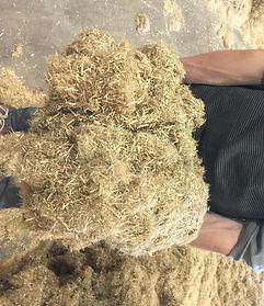 flax bedding fibre