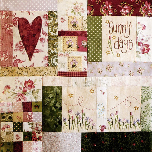 Leanne's House Block of the Month Quilt - Block 1