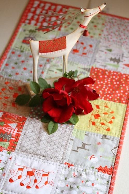 A Merry Little Christmas Table Runner