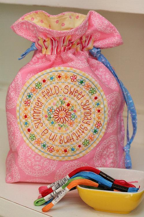 Summer Field Sewing Bag