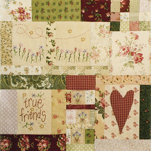 Leanne's House Block of the Month Quilt - Block 9