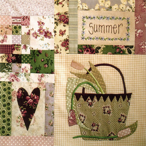 Leanne's House Block of the Month Quilt - Block 7