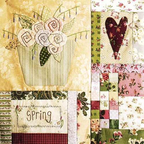 Leanne's House Block of the Month Quilt - Block 3