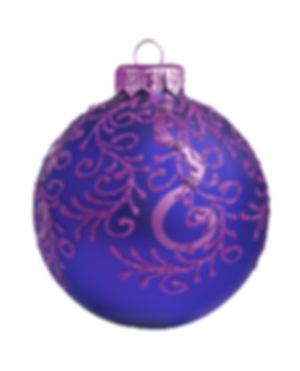 Purple Ornament