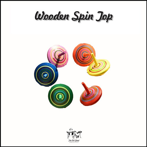 Wooden Spin Top | Toys | The Old Skool SG