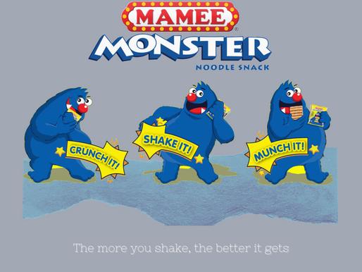 #TheOldSkoolGUIDE | Mamee Monster Noodle Snack