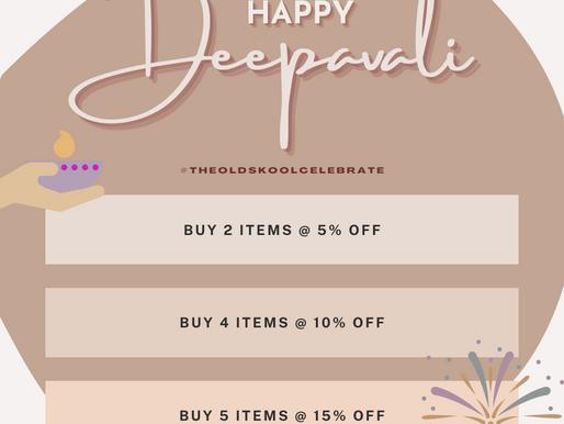 #TheOldSkoolCELEBRATE | Deepavali Storewide Combo Discounts