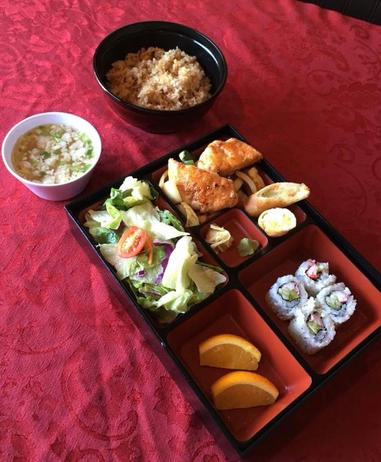 Salmon Lunchbox