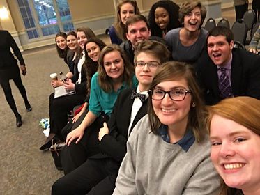 The forensics team at Berry College is growing and the students are excited to participate in speech and debate tournaments.