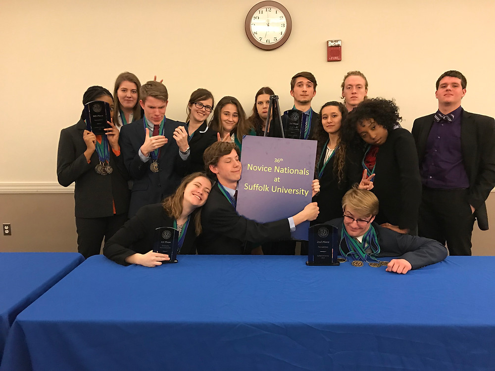 Berry College Forensics novices compete in Novice Nationals 2018