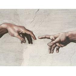 tendre une main,aider