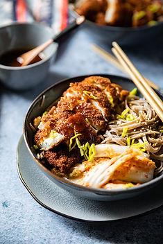recette-poulet-frit-chicken-katsu-nouill