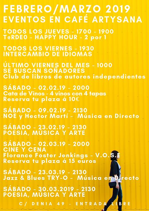 Febrero_Marzo_2019_Eventos_en_Café_ArtyS