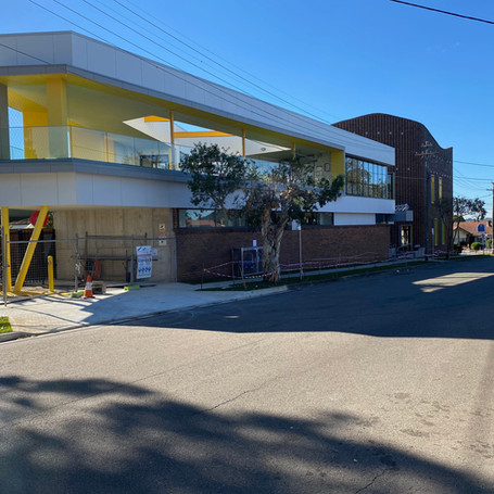 Extensive Alterations and Additions to convert Belfield RSL to Montessori Childcare