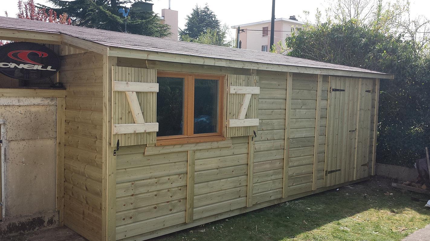 Terrasses bois et abris de jardin colin construction for Jardin ouvrier 78