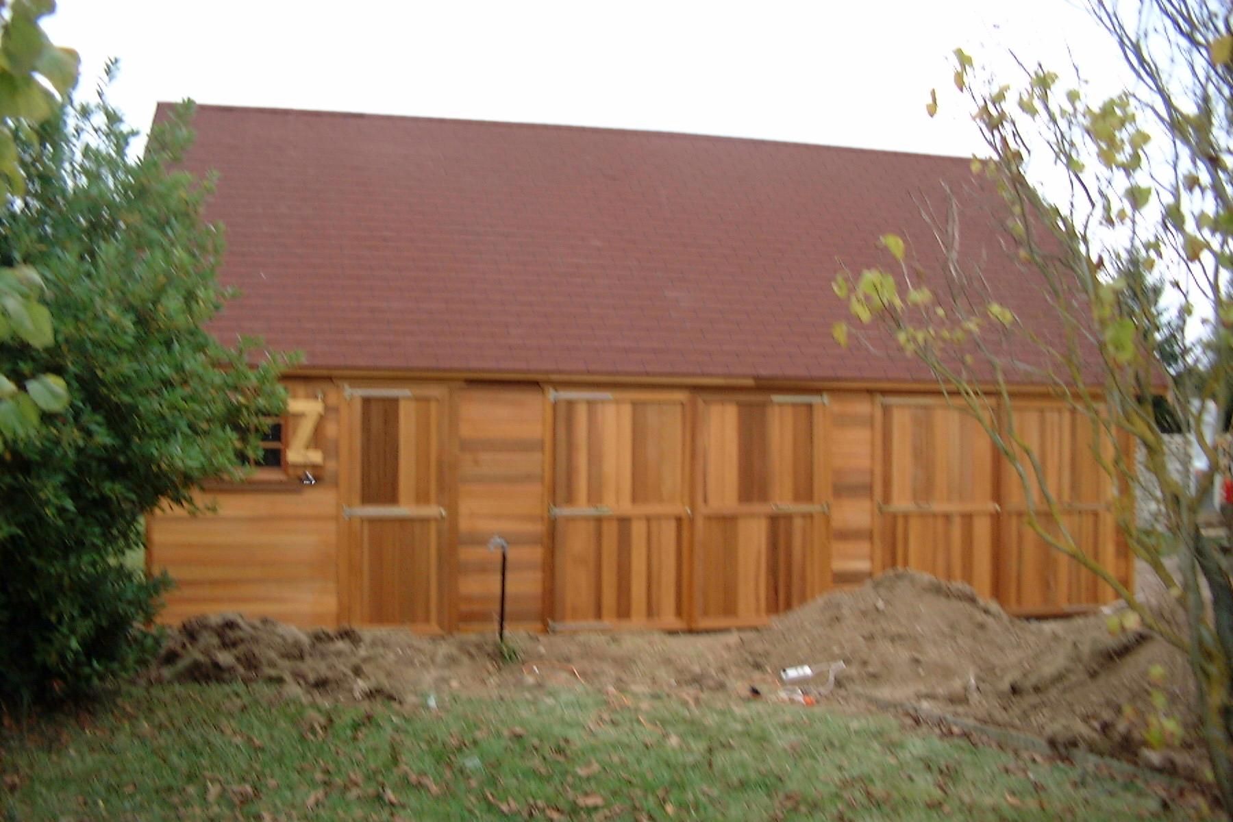Garage Ossature Bois