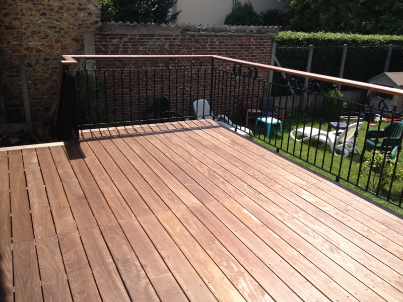 Terrasse Ipe Colin Construction