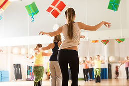 dance fitness class, get fit, loose weight