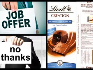 Offre d'emploi ou chocolat ? Quand la RH se met au marketing...