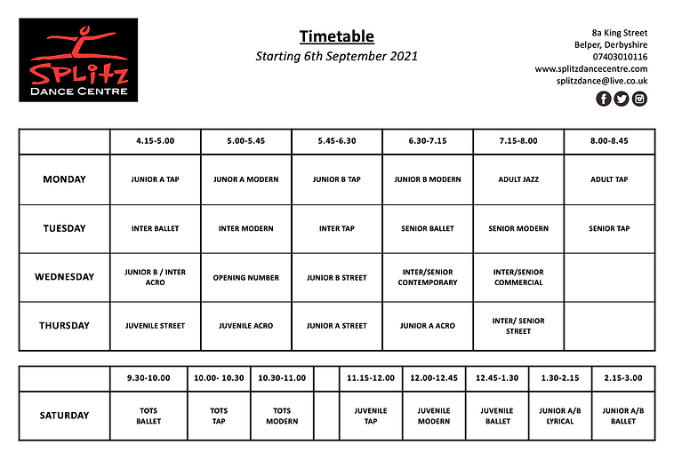 TIMETABLE 6TH SEPTEMBER 2021 no showdance on.png