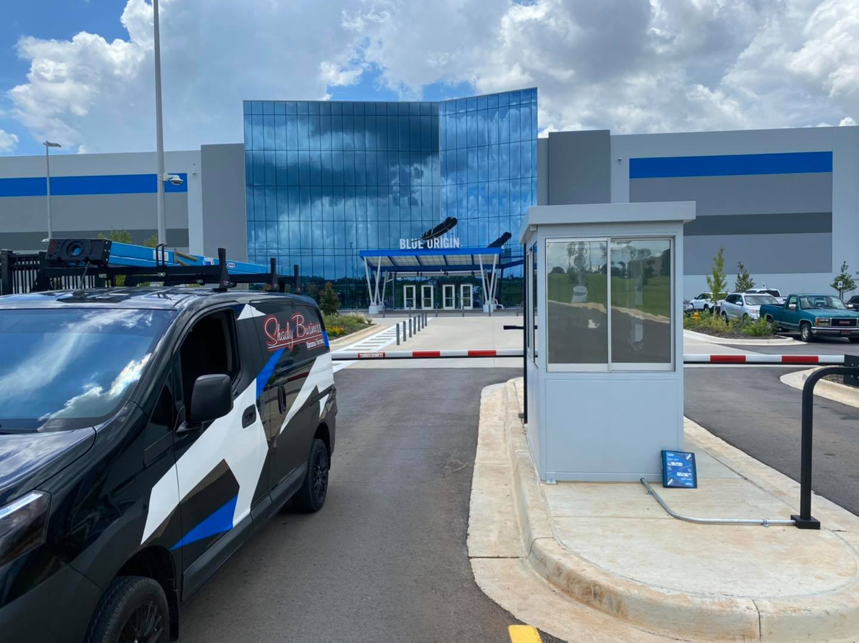 Blue Origin Guard Shack DR15 Commercial