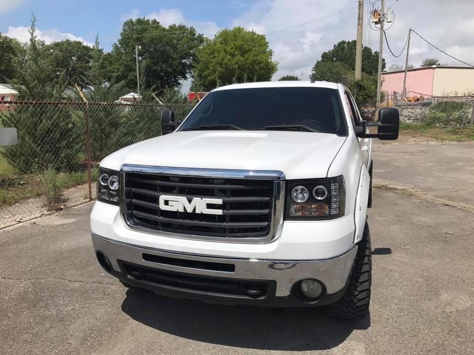 GMC windshield