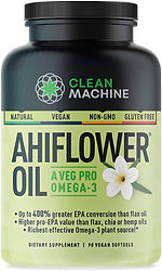 Clean Machine AhiFlower Omega Oil
